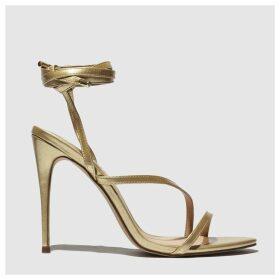 Schuh Gold Chantal High Heels