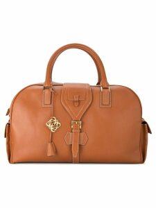 Loewe Pre-Owned Logos Jumbo XL 2way Travel handbag - Brown
