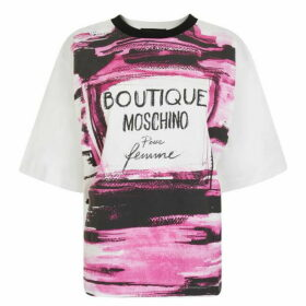 Boutique Moschino Perfume T Shirt