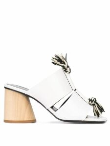 Proenza Schouler Knotted Rope Sandals - White