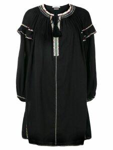 Isabel Marant Étoile flared style dress - Black