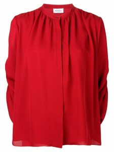 Salvatore Ferragamo flared draped blouse