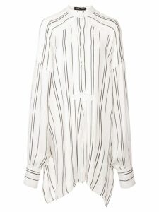 Proenza Schouler Crepe Striped Shirt - White