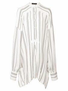Proenza Schouler Crepe Striped Shirt - White