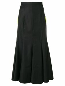 Natasha Zinko long godet skirt - Black
