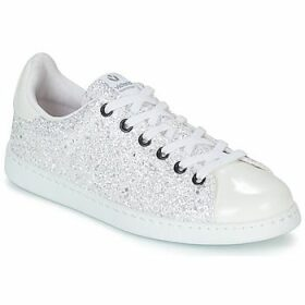 Victoria  TENIS GLITTER  women's Shoes (Trainers) in White