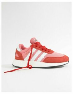 adidas Originals I-5923 Runner Trainers In Red And Pink