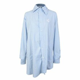 Vivienne Westwood Anglomania Chaos Asymmetric Striped Shirt