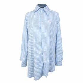 Vivienne Westwood Anglomania Chaos Asymmetric Striped Shirt
