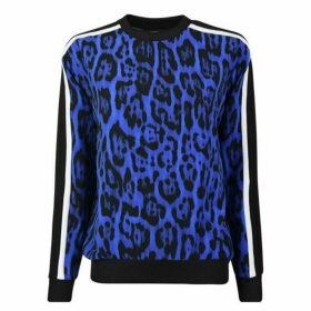 Just Cavalli Leopard Print Sweatshirt
