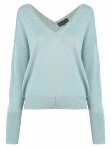 Nili Lotan Kylan cashmere sweater - Blue