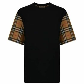 Burberry Vintage Check Sleeve T Shirt