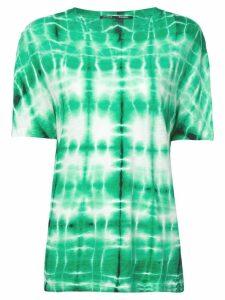 Proenza Schouler Tie Dye T-Shirt - Green