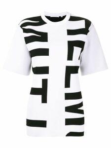 Helmut Lang logo print T-shirt - Black