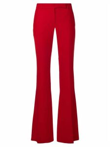 Alexander McQueen bootcut trousers - Red
