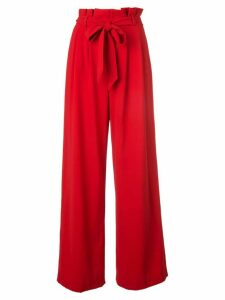 Alice+Olivia Farrel wide-leg trousers - Red