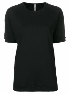 No Ka' Oi taped sleeve T-shirt - Black