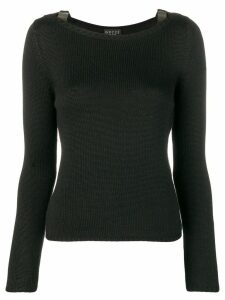 Gucci Pre-Owned 2000's knitted sweater - Black