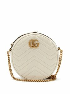 Gucci - GG Marmont Circular Leather Cross-body Bag - Womens - White