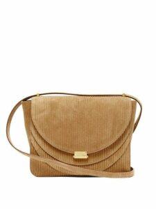 Wandler - Luna Corduroy Effect Suede Shoulder Bag - Womens - Tan