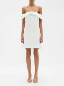 Asceno - Linen Boyfriend Shirt - Womens - Light Pink