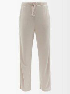 My Beachy Side - Beaded Crochet Knit Beach Dress - Womens - Gold