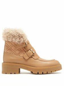 Lisa Marie Fernandez - Arden One-shoulder Cotton Midi Dress - Womens - Black