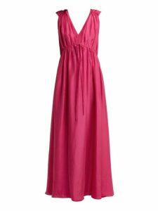 Loup Charmant - Sirena Silk Maxi Dress - Womens - Pink