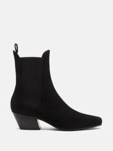 Lisa Marie Fernandez - Angel-sleeve Cotton-seersucker Dress - Womens - Orange