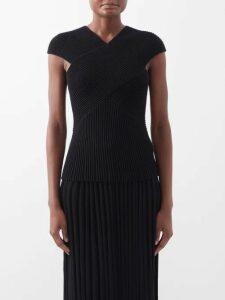 Loup Charmant - Mayette Silk Tiered Maxi Dress - Womens - Dark Green