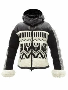Msgm - Anchor Stripe Satin Blouse - Womens - White Multi