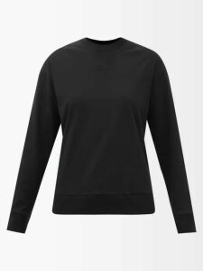 Prada - Ruffle-trimmed Silk Blouse - Womens - Ivory Multi