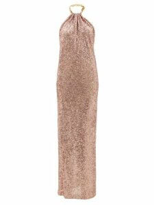 M.i.h Jeans - Ryley Double Breasted Wool Blend Coat - Womens - Beige Multi