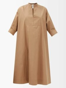 Fendi - Ruffle Broderie Anglaise Cotton Blouse - Womens - Black