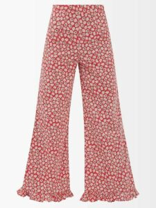 Tibi - Cotton Blend Polo Sweatshirt - Womens - Navy