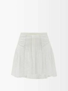 Mm6 Maison Margiela - Neck-tie Twill Shirt - Womens - Black