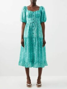 Helmut Lang - Distressed Crew Neck Sweater - Womens - Beige