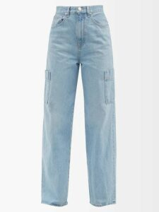 Mm6 Maison Margiela - Piped Stitch Roll Neck Sweater - Womens - Red