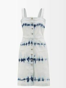 Frances De Lourdes - Louise Cashmere And Silk Long-sleeve T-shirt - Womens - Navy
