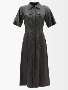 Prada - Logo Patch Nylon Shorts - Womens - Light Blue