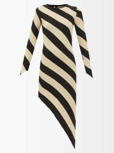 Prada - Logo Patch Nylon Shorts - Womens - Blue