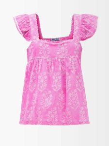 Gucci - Sequinned-logo Hooded Cotton Sweatshirt - Womens - Black Multi