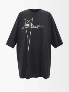 Marques'almeida - Spike-tongue Leather High-top Trainers - Womens - Red White
