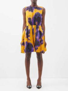 The Upside - Twill Panelled Cotton Sweatshirt - Womens - Khaki