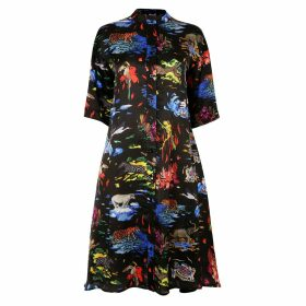 True Rocks - Large Elvis Skull Pendant In Sterling Silver & Gun Metal Grey Silver