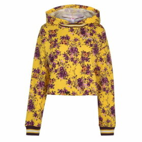 Juicy Cinched Hoody Ladies - Floral