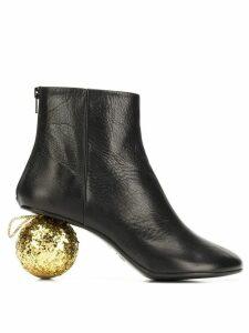 Mm6 Maison Margiela bauble heel ankle boots - Black