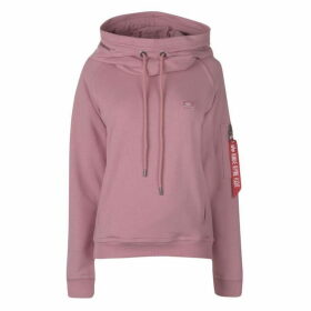 Alpha Industries X Fit OTH Hoodie - Silver Pink