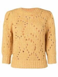 Isabel Marant Étoile Sinead sweater - Yellow