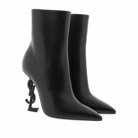 Saint Laurent Boots & Booties - Opyum Ankle Boots Leather Black - black - Boots & Booties for ladies
